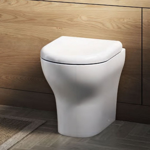 Vitra Zentrum Back To Wall Toilet