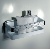 Keuco Moll Shower Basket With Integrated Glass Wiper