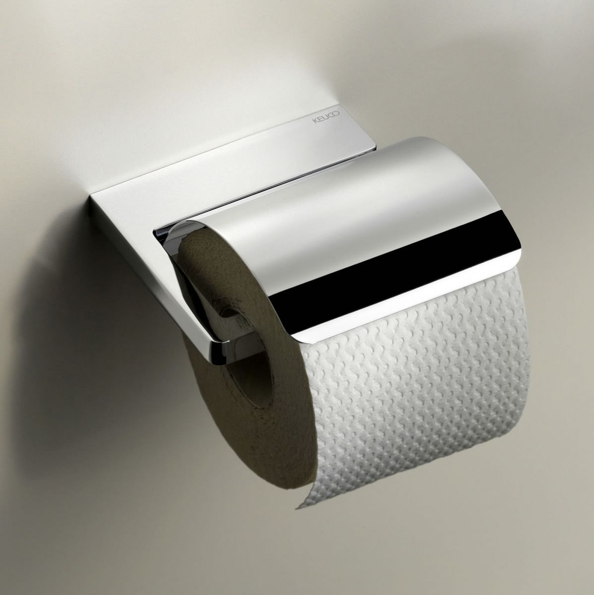 Keuco Moll Toilet Paper Holder With Lid