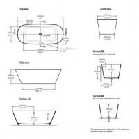 Victoria & Albert Vertralla 2 Freestanding Bath