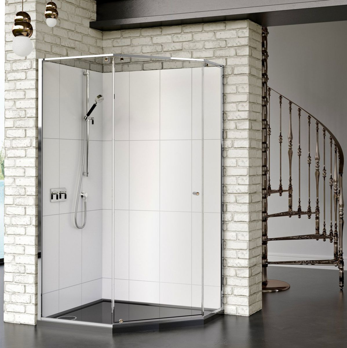 Bathroom And Showers Direct: Matki-ONE Quintesse Shower Enclosure