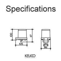 Keuco Moll Lotion Dispenser