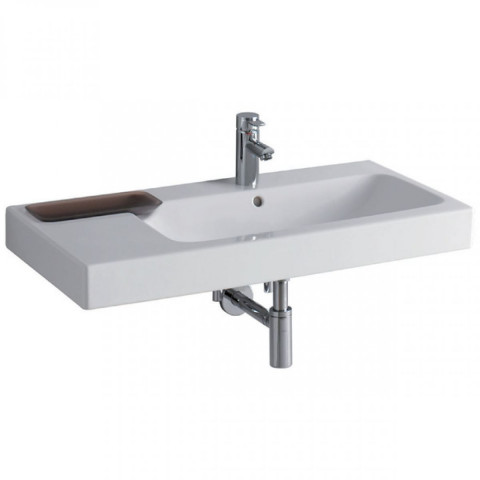 Geberit Icon Offset Washbasin & Decorative Dish