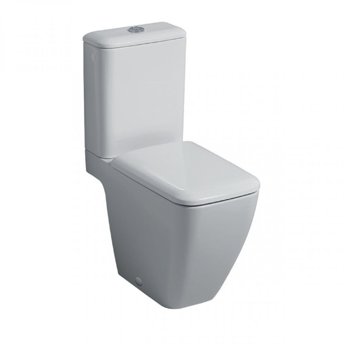 Geberit icon square close coupled toilet bathrooms for Gerberit toilet