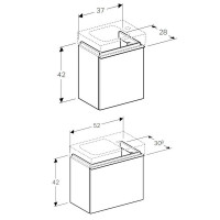Geberit Icon Small Vanity Unit