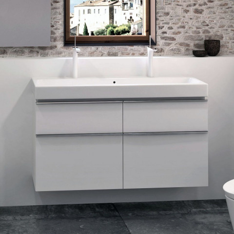 Geberit Icon 1200mm Vanity Unit For Double Washbasin