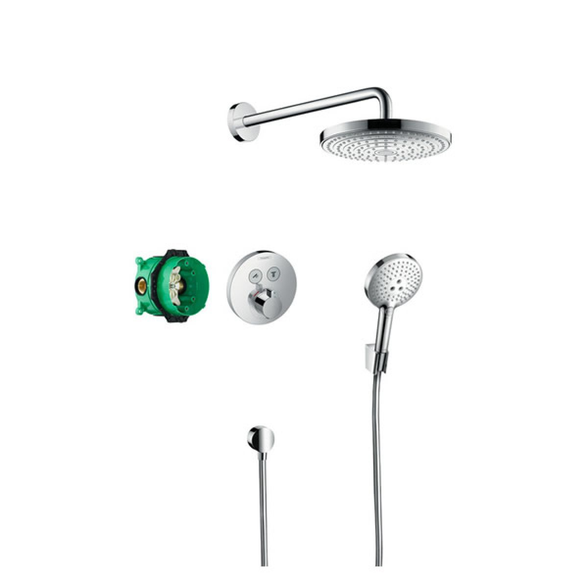 Hansgrohe Design Raindance Select S Shower Set