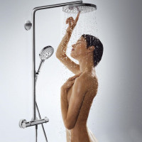 Hansgrohe Raindance Select S Showerpipe Set 2 Jet