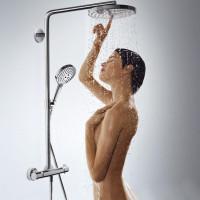 Hansgrohe Raindance Select S Showerpipe Set 2 Jet