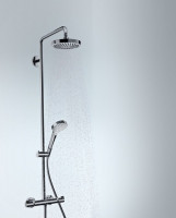 Hansgrohe Croma Select S 180 2 Jet Showerpipe Set