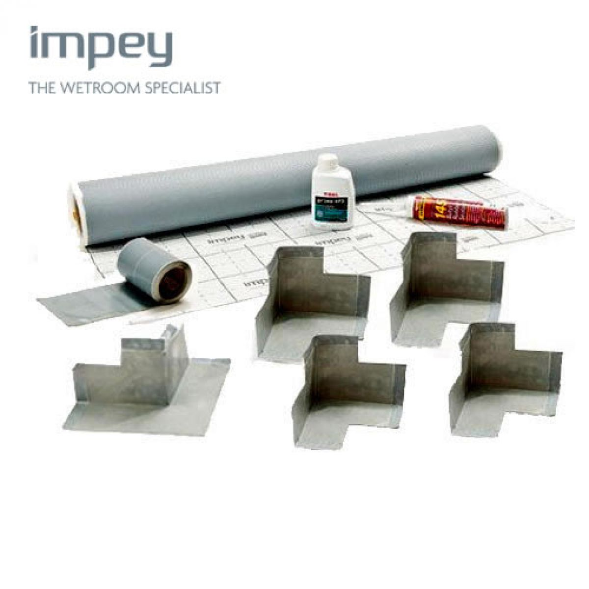 Impey Wetroom Waterguard Tanking KIt