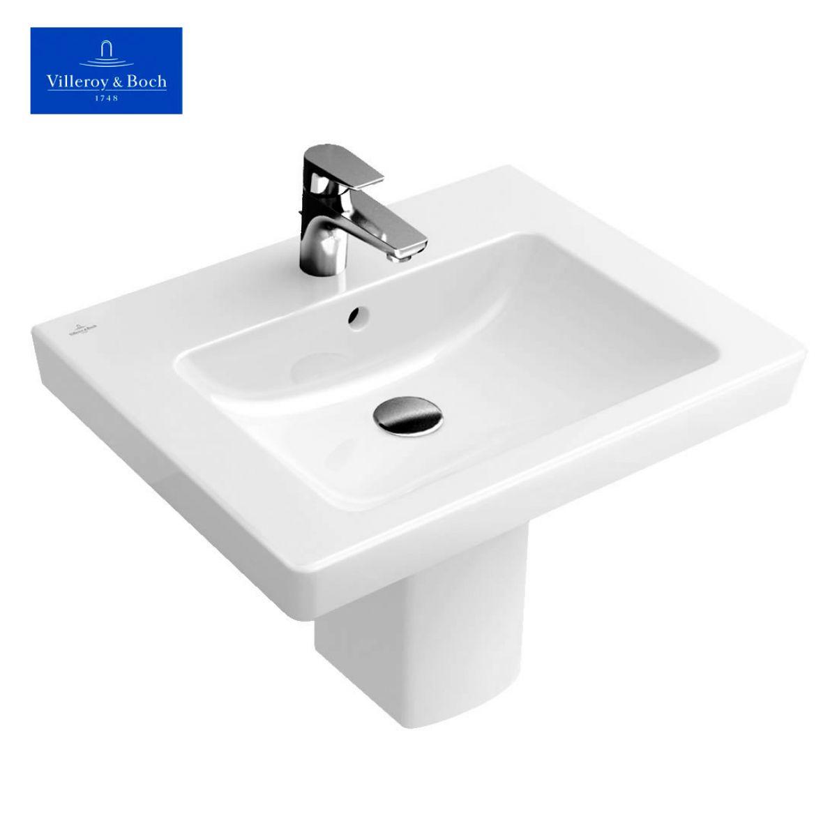 villeroy boch subway 2 0 square washbasin bathrooms. Black Bedroom Furniture Sets. Home Design Ideas