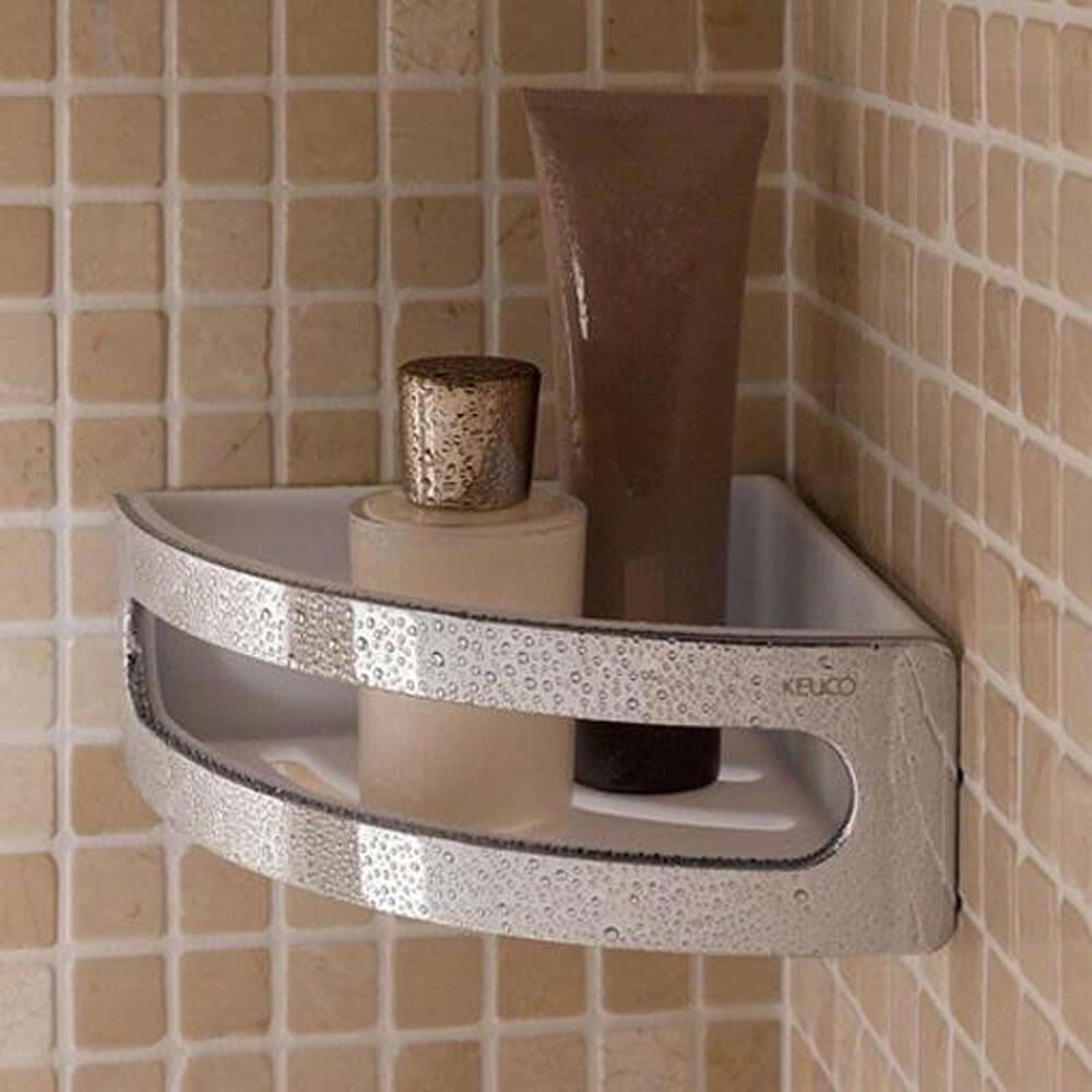 Keuco Elegance Corner Shower Basket Bathrooms Direct