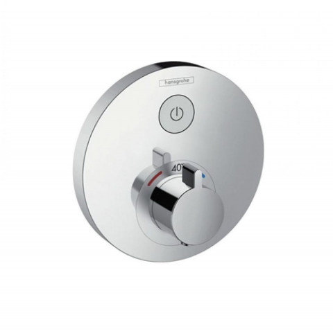 Hansgrohe ShowerSelect Thermostatic Mixer 1 Outlet (Round)