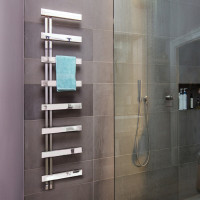 Bisque Alban Towel Radiator