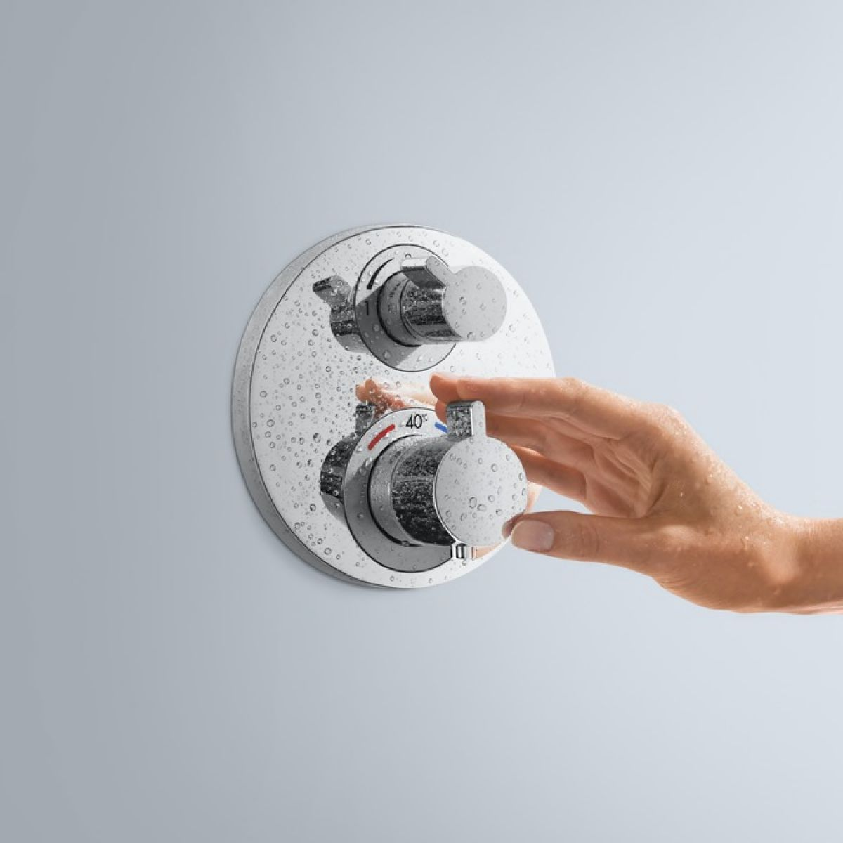 Hansgrohe Ecostat S Thermostatic Concealed Valve