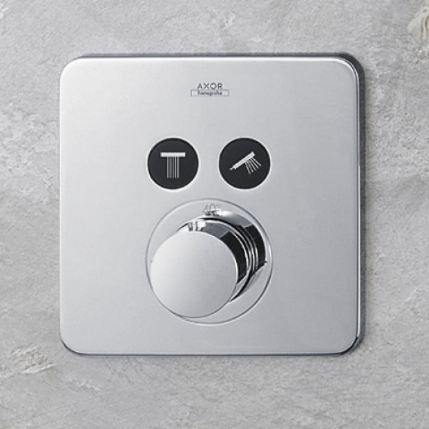 AXOR ShowerSelect Soft Thermostatic Mixer 2 Outlet