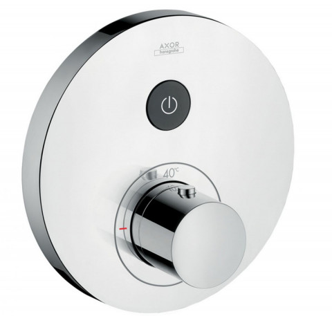 AXOR ShowerSelect Round Thermostatic Mixer 1 Outlet