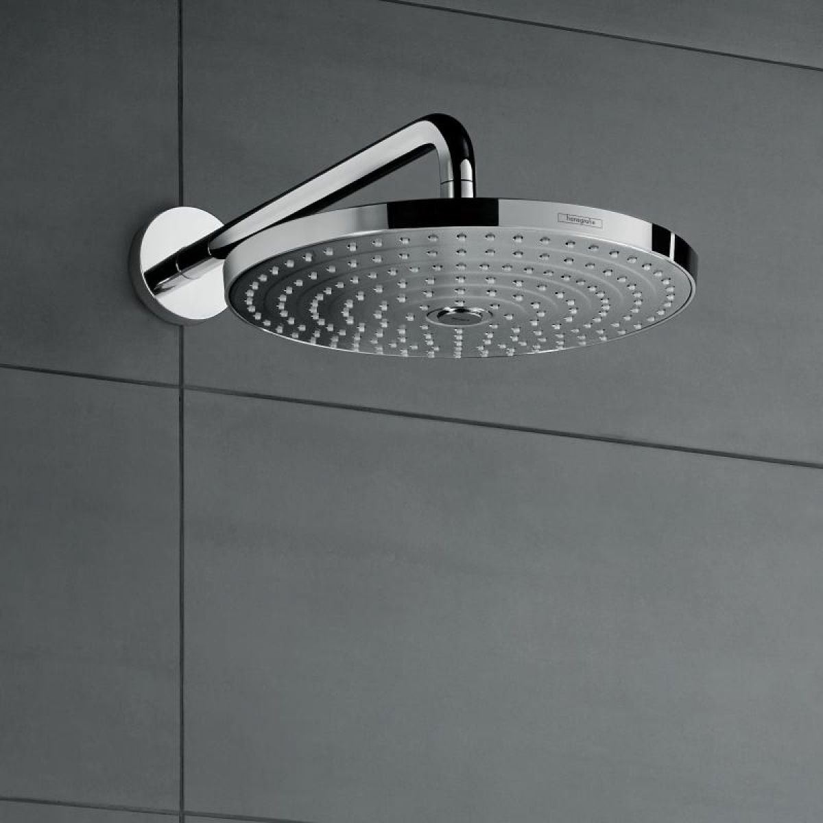 hansgrohe raindance select s 2 jet overhead shower arm. Black Bedroom Furniture Sets. Home Design Ideas