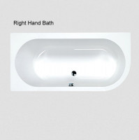 Carron Status Offset Double Ended Bath