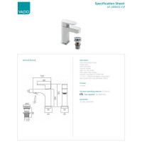 VADO Life Mini Basin Mixer
