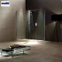 Matki Wet Room Panel With Return