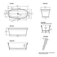Victoria + Albert Warndon Freestanding Bath