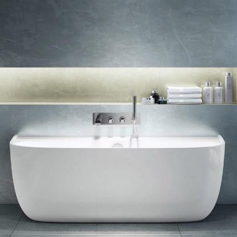 Victoria & Albert Eldon Back To Wall Freestanding Bath