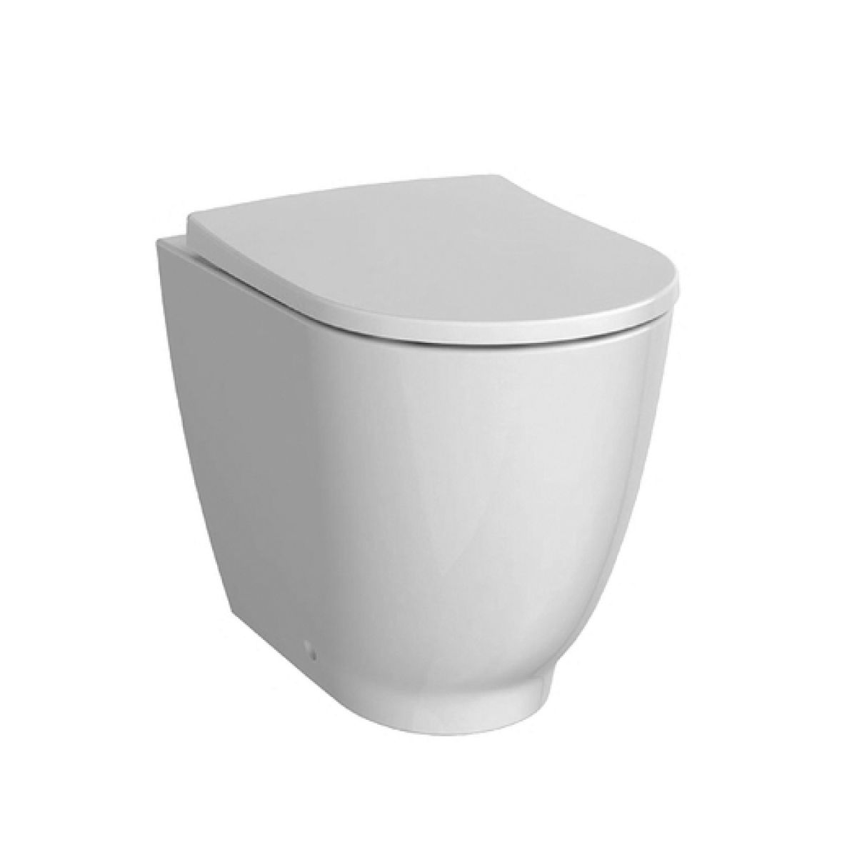 Geberit Acanto Back To Wall Toilet Rimfree