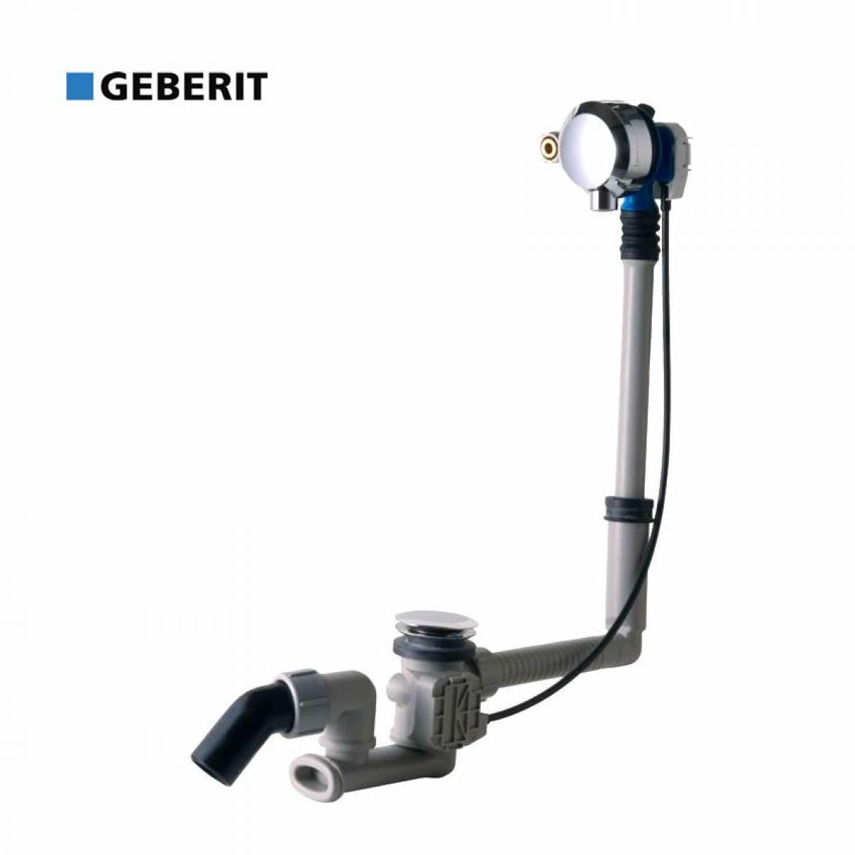 Geberit Overflow Bath Filler With Turn Control Pop Up Waste ...