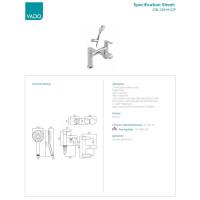 VADO Ion 2 Hole Bath Shower Mixer