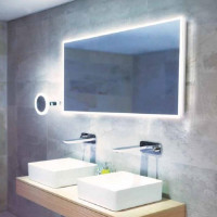 HIB Globe 120 LED Ambient Mirror
