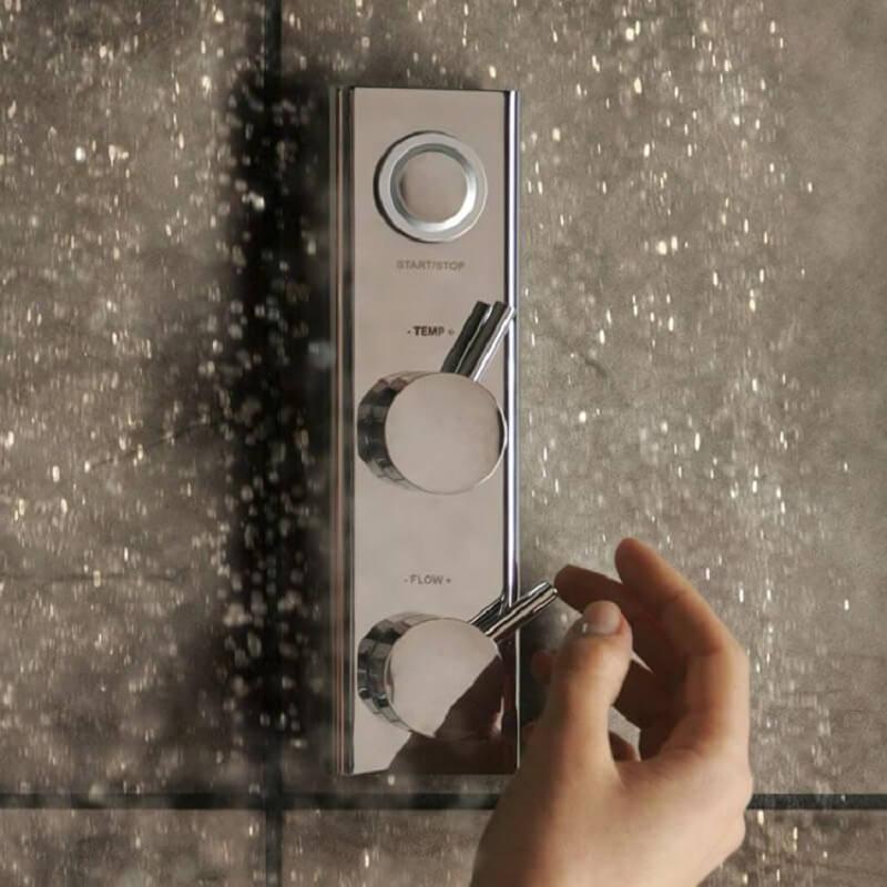 Aqualisa Hiqu Concealed Smart Digital Shower Valve With