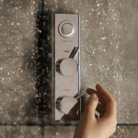 Aqualisa HiQu Concealed Smart Digital Shower Valve With Remote Control
