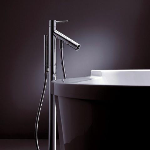 AXOR Starck Floor Standing Bath Shower Mixer Set