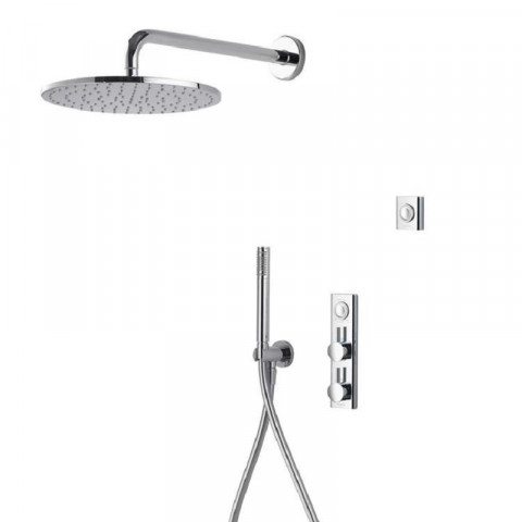 Aqualisa HiQu Dual Outlet Smart Digital Shower with 300mm Round Head & Handset