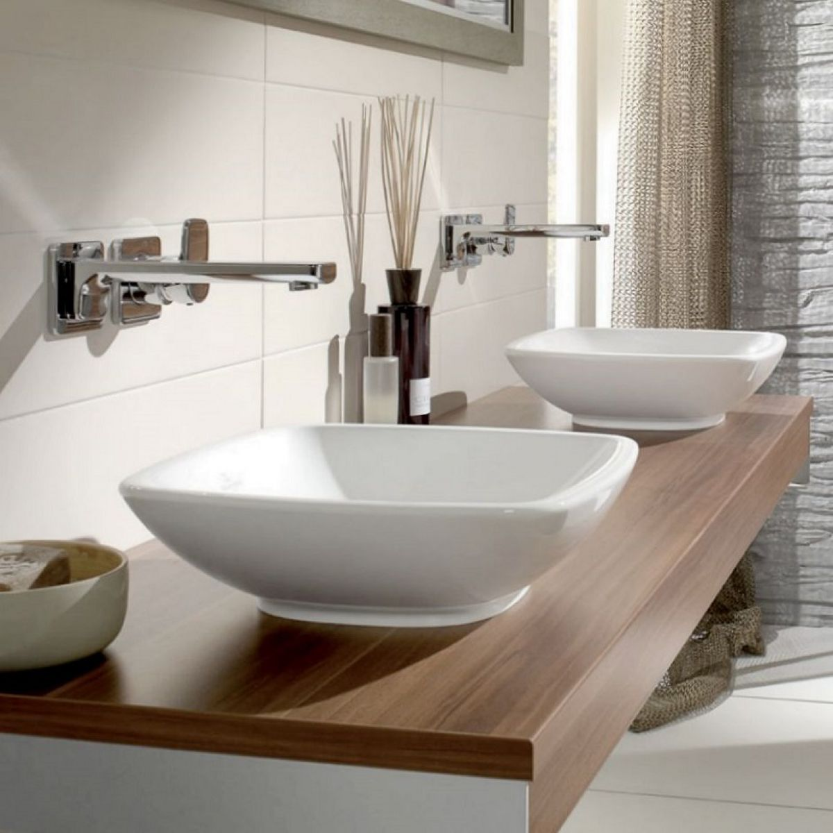 Villeroy & Boch Loop & Friends Square Surface Mounted Basin