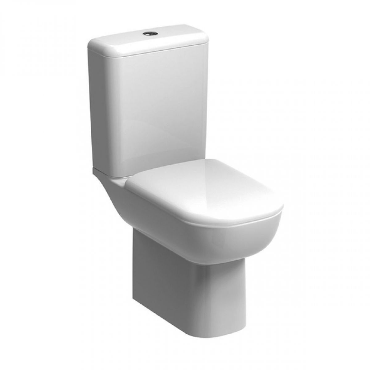 Geberit smyle close coupled toilet rimfree bathrooms for Geberit products