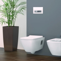 Geberit Smyle Square Wall Hung Toilet Rimfree