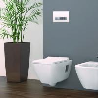 Geberit Smyle Square Wall Hung Toilet Rimfree