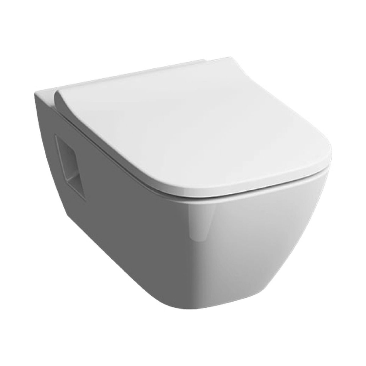 Geberit Smyle Square Wall Hung Toilet Rimfree Bathrooms