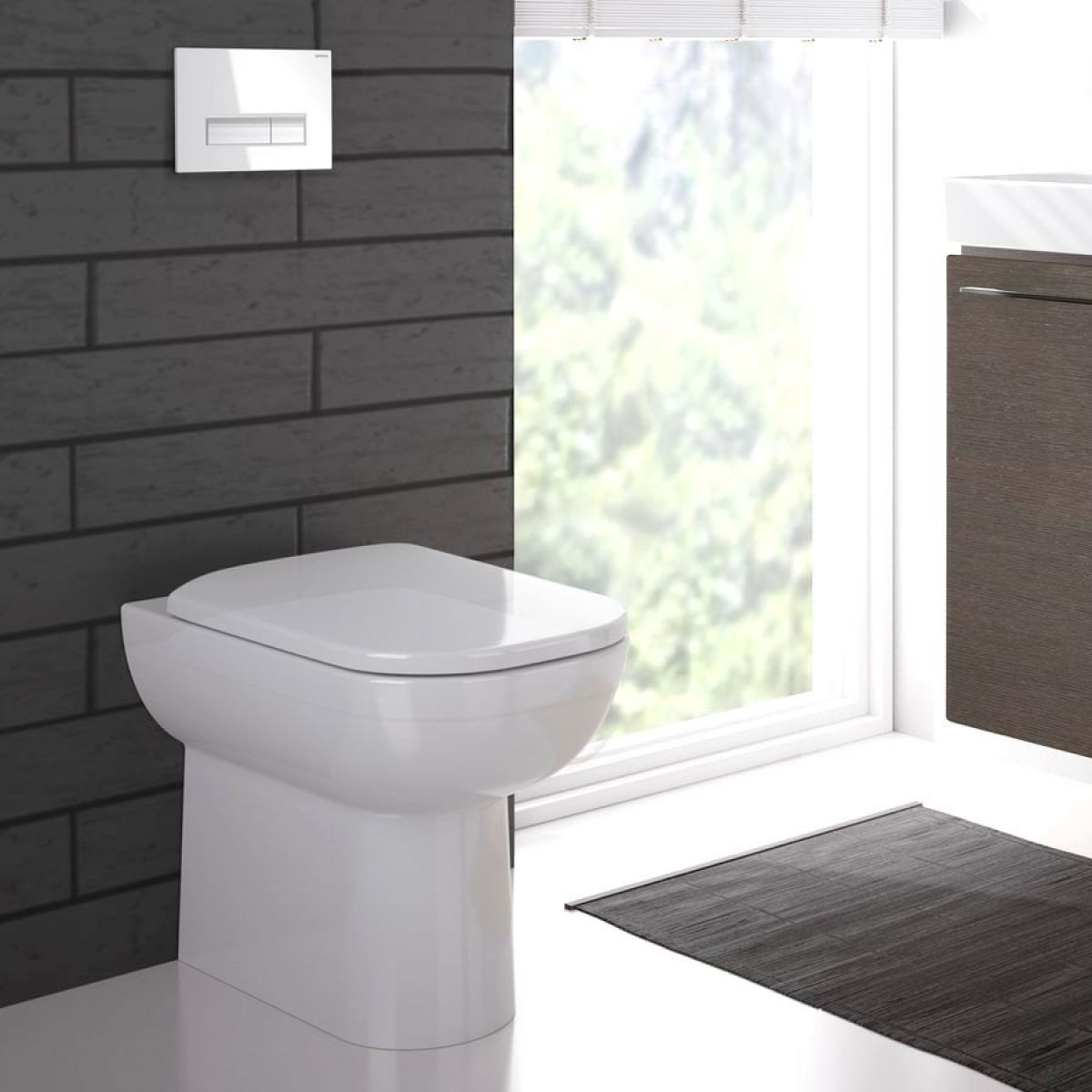 Geberit Smyle Back To Wall Toilet