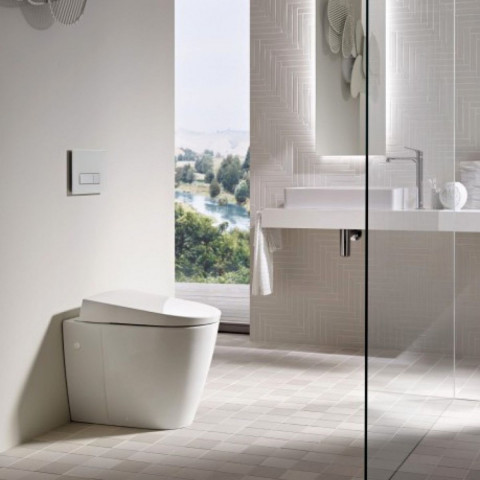 Geberit AquaClean Sela Floor Standing Shower Toilet