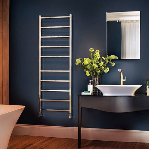 Bisque Gio Stainless Steel Towel Rail