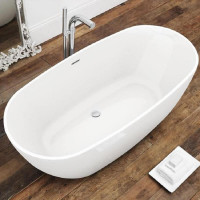 Waters I-Line Brook2 Freestanding Bath