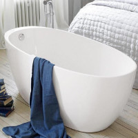 Waters I-Line Fjord 1700mm Freestanding Bath