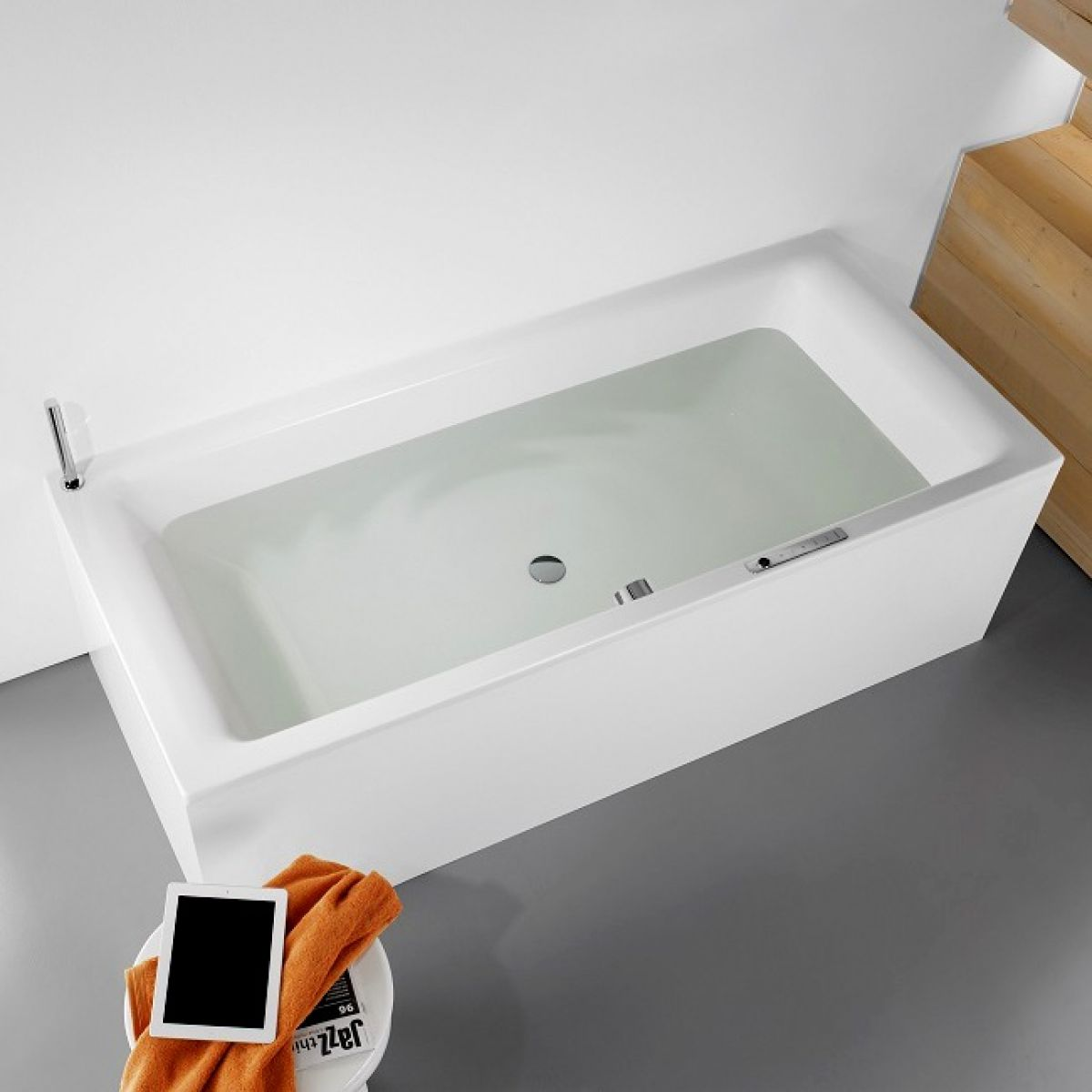 Kaldewei Puro Duo Luxury Steel Bath