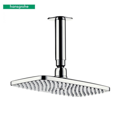 Hansgrohe Raindance E Overhead Shower With 100mm Ceiling Arm