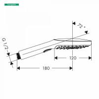 Hangrohe Raindance Select E 120 3 Jet Hand Shower