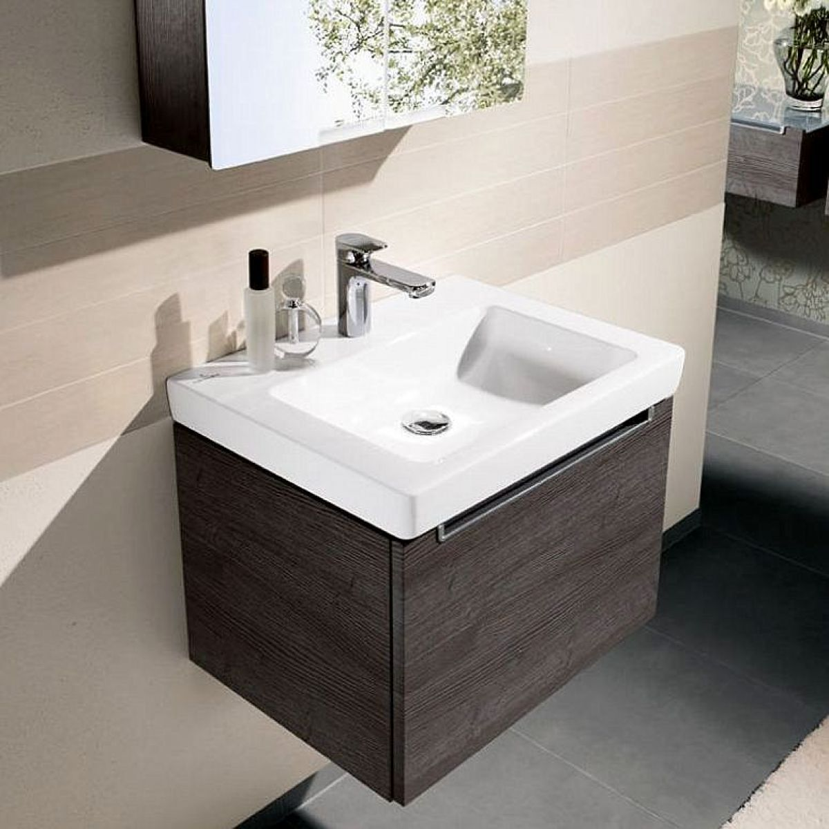 villeroy boch subway 2 0 washbasin vanity unit. Black Bedroom Furniture Sets. Home Design Ideas